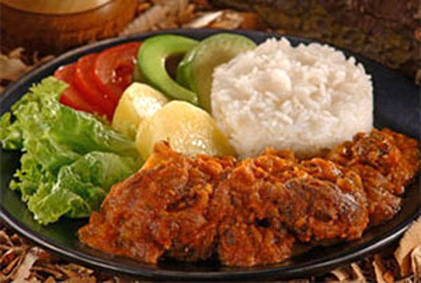Artecuador seco de chivo for Como cocinar carne de chivo